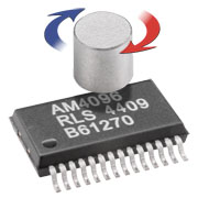AM4096 12-bit magnetic chip encoder