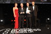 Sir David McMurtry receives The Daily Telegraph Award for a Decade of Excellence in Business
