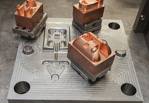 BK Tooling mould parts