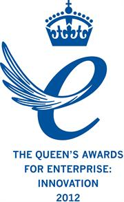 Queen's Award for Enterprise logo 2012 blue