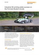 Case study:  Industrial 3D printing yields success on the Formula Student circuits