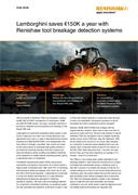 Case study:  Lamborghini saves €150K a year with Renishaw tool breakage detection systems